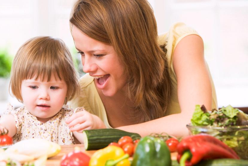 Encourage children to eat healthy