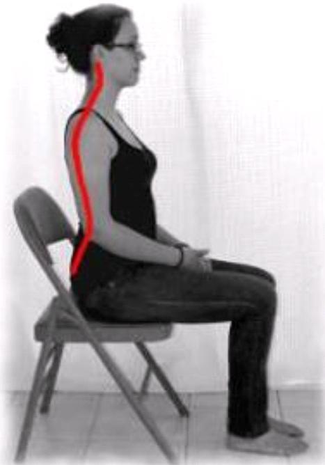 Proper posture when you sit