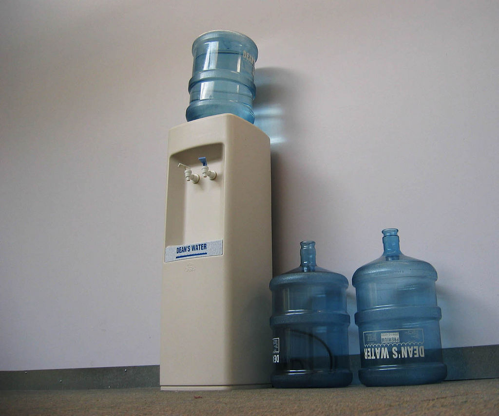 bottled water dispenser, water quality